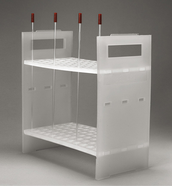 NMR sample tube rack