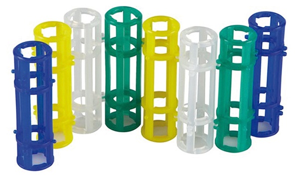 Chain tube rack for 5/15 mL tubes