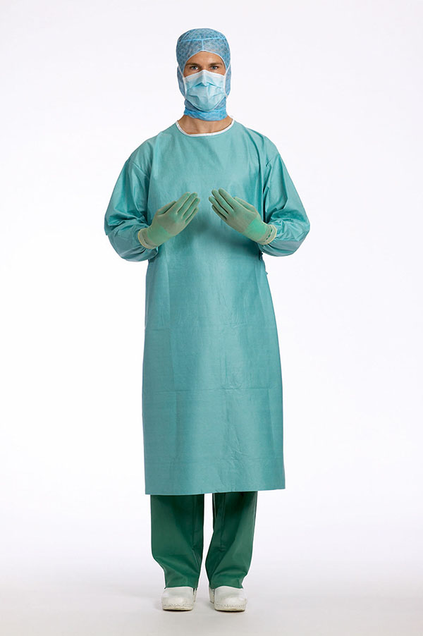 Disposable sterile surgical gowns - Coveralls and lab coats - Health ...
