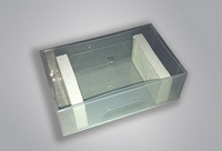 Box for transporting and holding microscope slides