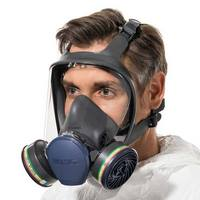 MOLDEX Masks with gas filter cartridges permanently mounted to the facepiece - Series 9000