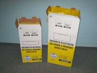 Boxes for infectious waste