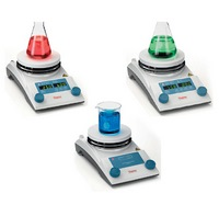 RT2 Basic and RT2 Advanced hotplate magnetic stirrers, and RT2 hotplate