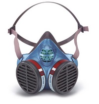 Moldex Half mask series 5000 maintenance free - Protection Level FFA1 - Organic gases/ vapours (boiling point above 65 ° C)