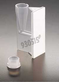 Single funnel with white filter and cap, Packaging by 50