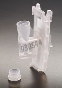 Double funnel with white filter and cap, Packaging by 40