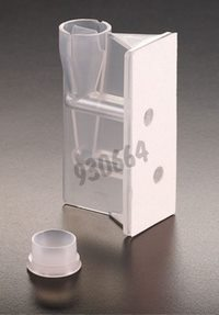 Double funnel with white filter and cap, Packaging by 50
