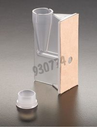 Single funnel with brown filter and cap, Packaging by 50